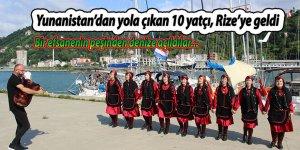 Yunanistan'dan yola çıkan 10 yatçı, Rize'ye geldi