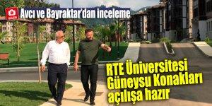 RTE Üniversitesi Güneysu Konakları açılışa hazır