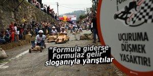 """""""Formula giderse Formulaz gelir"""" sloganıyla yarıştılar"""
