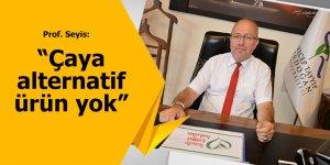 """Prof. Seyis: """"Çaya alternatif ürün olamaz"""""""
