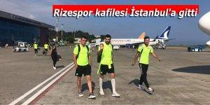 Rizespor kafilesi İstanbul'a gitti