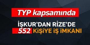 İŞKUR Rize'de 552 kişiyi işe alacak