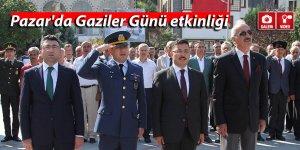Pazar'da Gaziler Günü etkinliği