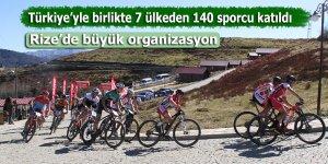 Türkiye ile birlikte toplamda 7 ülkeden 140 sporcu katıldı