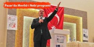 Pazar'da Mevlid-i Nebi programı