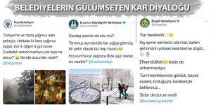 Belediyelerin gülümseten kar diyaloğu