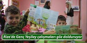 Rize'de Genç Yeşilay çalışmaları göz dolduruyor