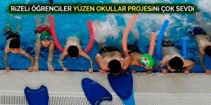 Rizeli öğrenciler yüzen okullar projesini çok sevdi