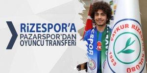 Rizespor, Pazarsporlu oyuncuyu transfer etti