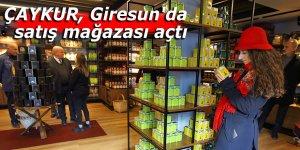 ÇAYKUR, Giresun'da satış mağazası açtı