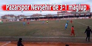 Pazarspor Nevşehir'e 3-1 mağlup oldu