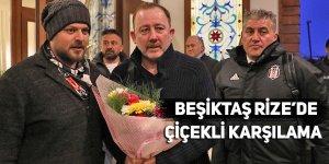 Beşiktaş kafilesi Rize'de