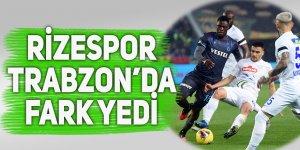 Rizespor, Trabzon'da fark yedi