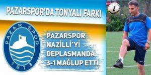 Pazarspor'da Tonyalı farkı: 3-1