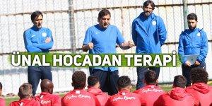 Rizespor, MKE Ankaragücü maçı hazırlıklarına başladı