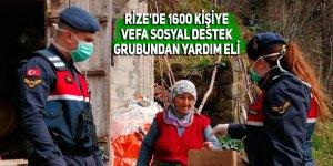 Rize'de 1600 kişiye Vefa Sosyal Destek Grubundan yardım eli