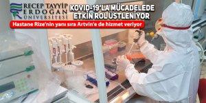 RTEÜ Kovid-19'la mücadelede etkin rol üstleniyor