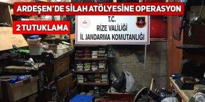 Ardeşen'de silah imalatına 2 tutuklama