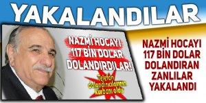 Eski Rektör Nazmi Hocayı dolandıranlar yakalandı