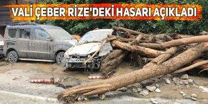 Vali Çeber Rize'deki hasarı açıkladı