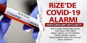 Rize'de korona virüs alarmı!