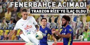 Fenerbahçe acımadı. Trabzon Rizespor'a ilaç oldu!