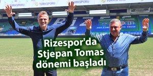 Rizespor'da Stjepan Tomas dönemi başladı