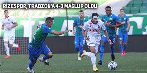 Rizespor, Trabzonspor'a 4-3 mağlup oldu