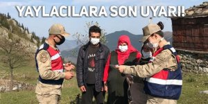 Jandarma'dan yaylacılara son uyarı!