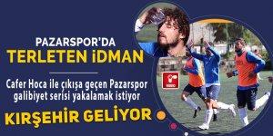 Pazarspor Kırşehir'e bileniyor