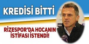 Rizespor'da hocanın istifası istendi!