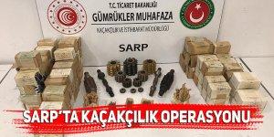Sarp Sınır Kapısı'nda kaçakçılık operasyonu