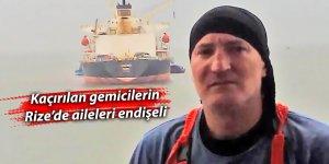 Kaçırılan gemicilerin aileleri endişeli