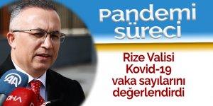 Rize Valisi, Kovid-19 vaka sayılarını değerlendirdi: