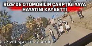 Rize'de otomobilin çarptığı yaya hayatını kaybetti