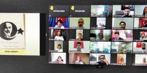 M. Akif, Pazar'da video konferansla anıldı