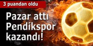 Pazarspor Pendik'e 3-2 mağlup oldu