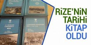 Rize'nin tarihi kitap oldu