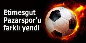 Etimesgut, Pazarspor'u farklı yendi