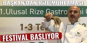 GastroRize Festivalinde yöresel lezzetler tanıtılacak