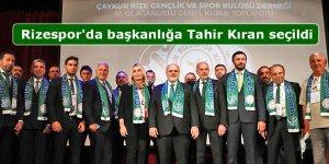 Rizespor'da başkanlığa Tahir Kıran seçildi