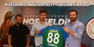 Rizespor Cemali Sertel'i 1 yıllığına kiraladı