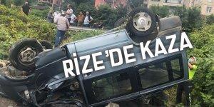 Rize'de kaza: 5 yaralı