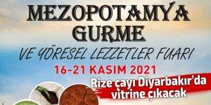 Rize çayı Diyarbakır'da vitrine çıkacak