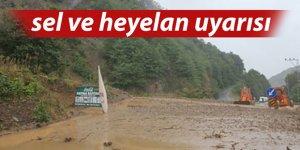 D. Karadeniz için sel uyarısı